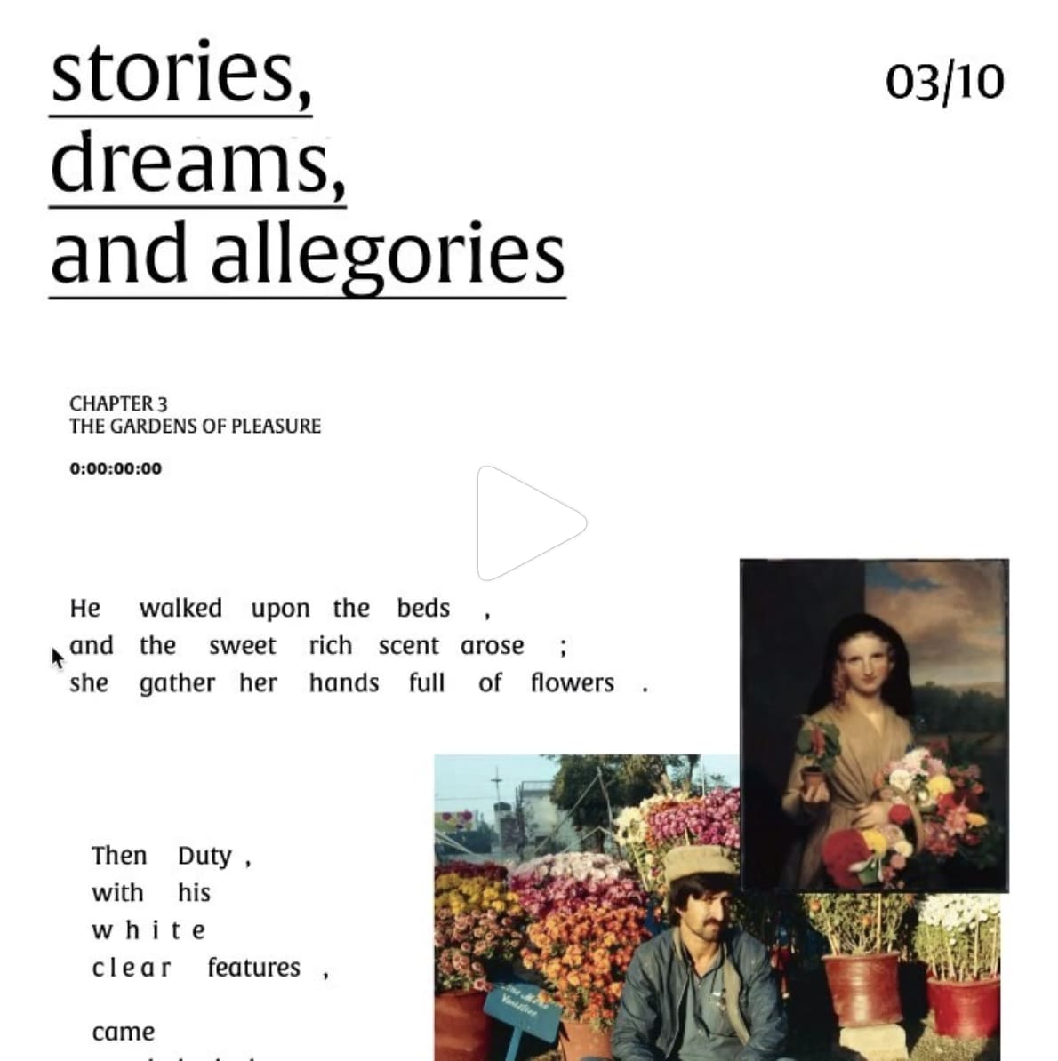 Stories, Dreams, and Allegories