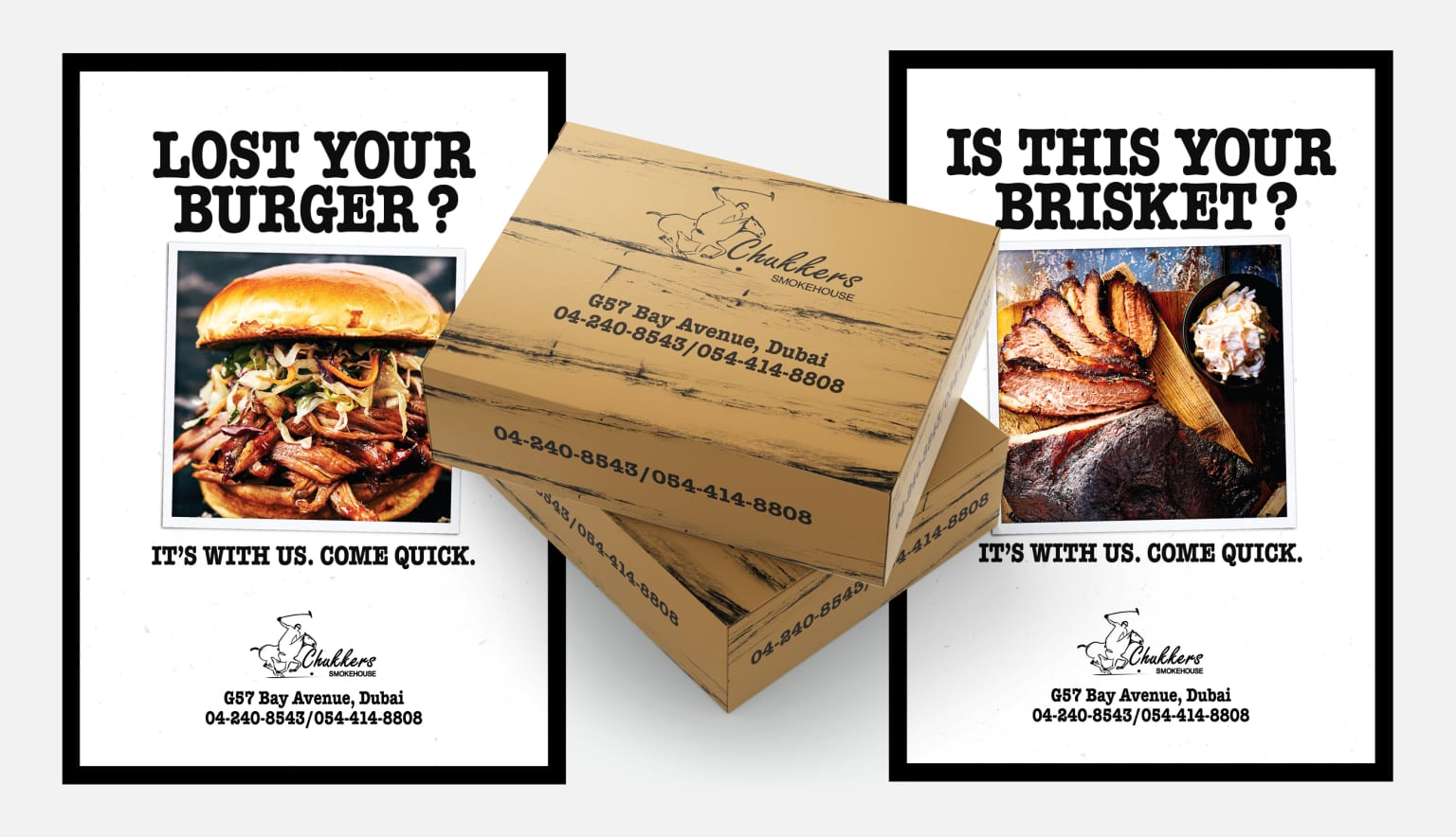 Brand Promotions for an American BBQ Restaurant