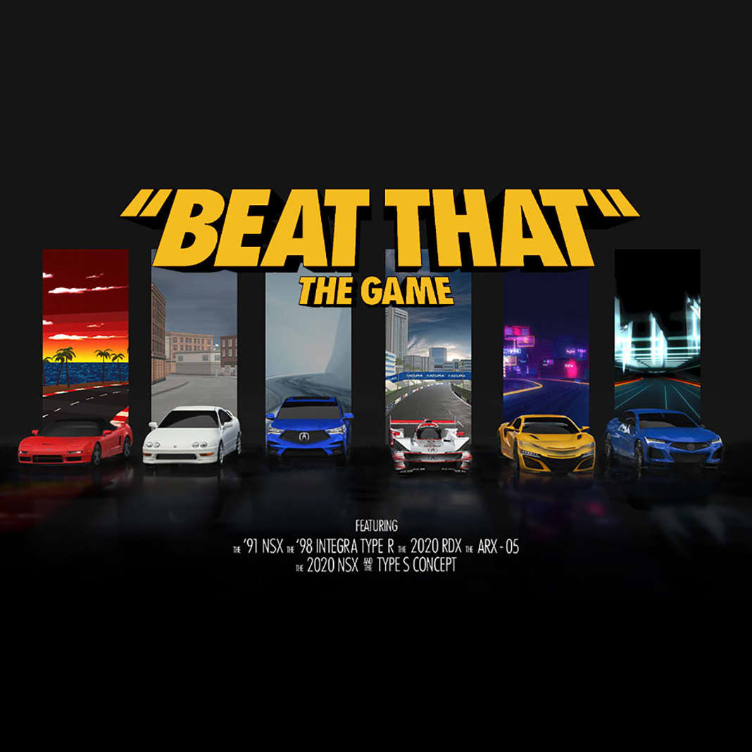 """Acura """"Beat That"""" The Game"""