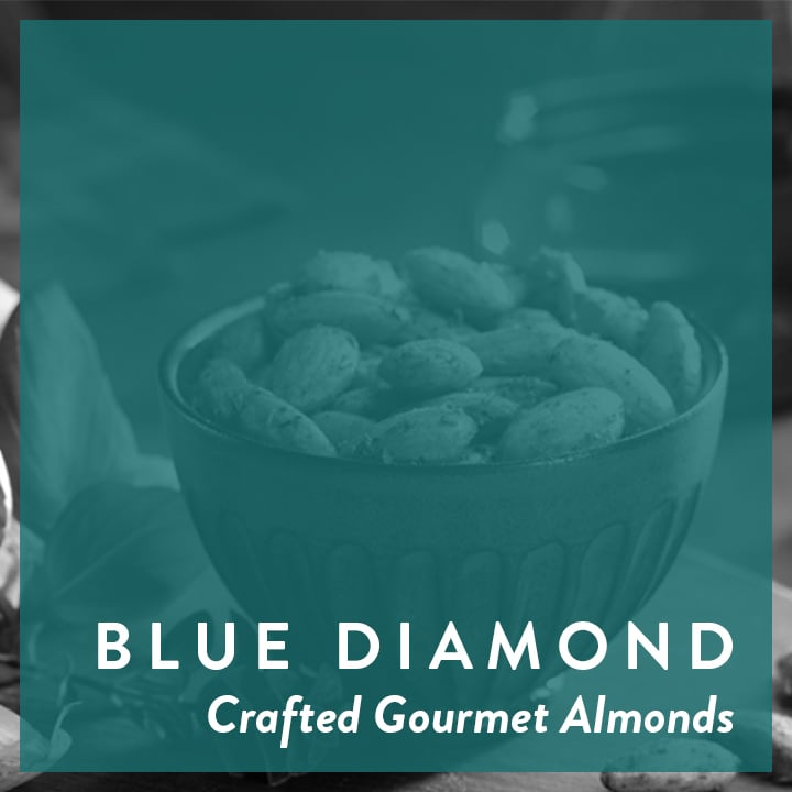 Blue Diamond | Crafted Gourmet Almonds