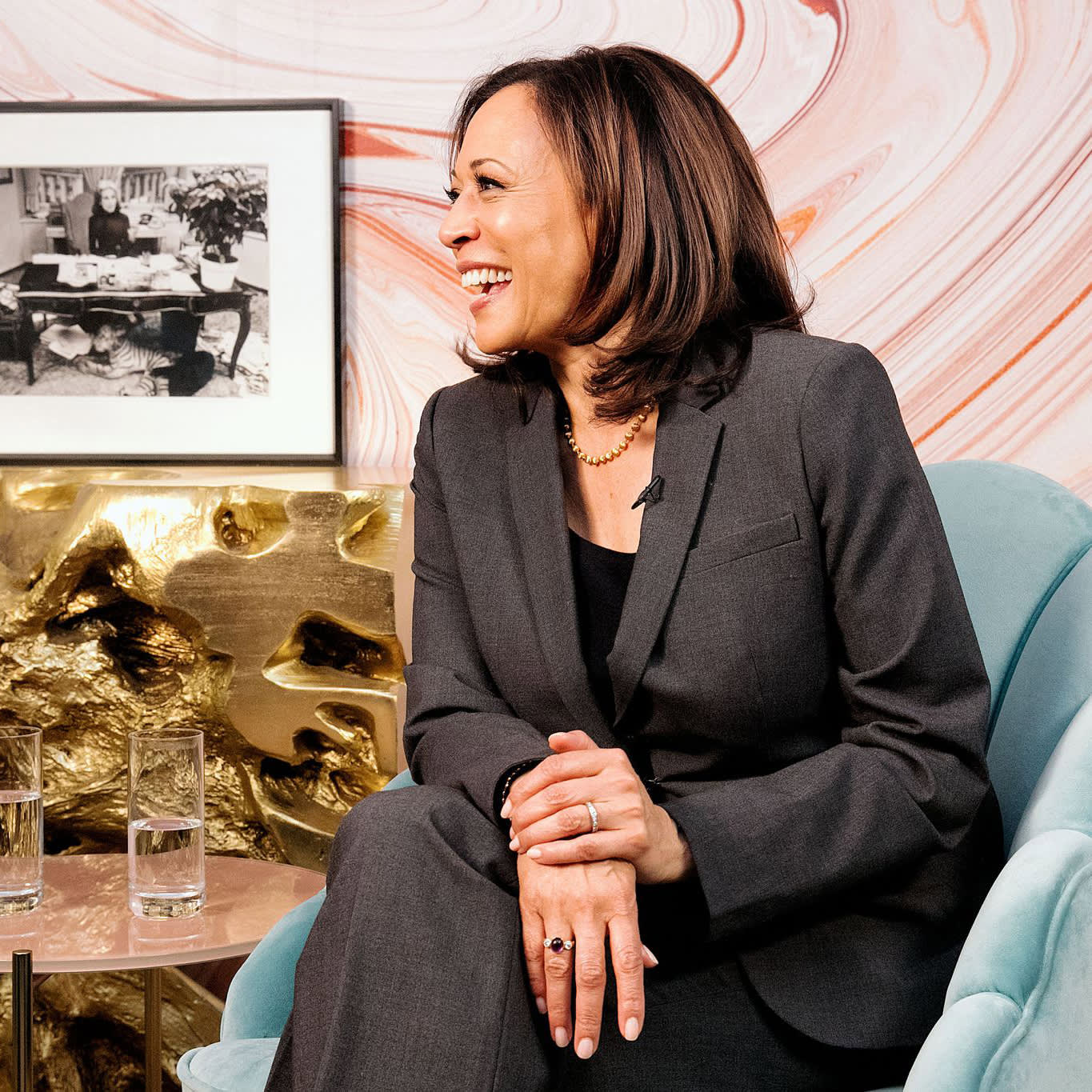 The Candidates Come to Cosmo: Kamala Harris