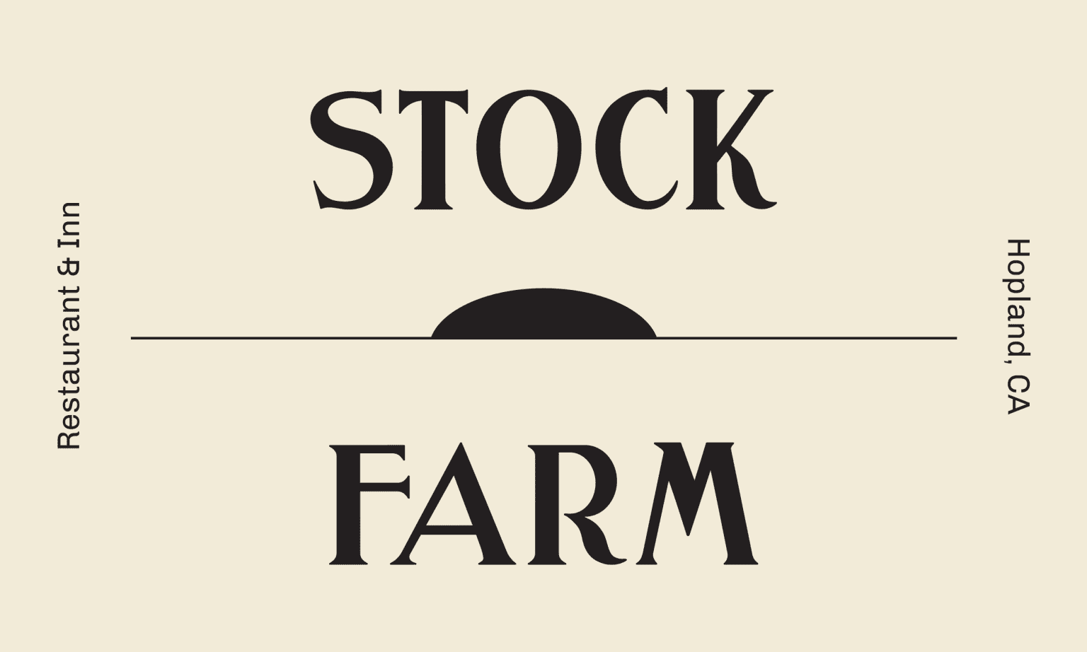 Stock Farm Restaurant Branding & Visual Design
