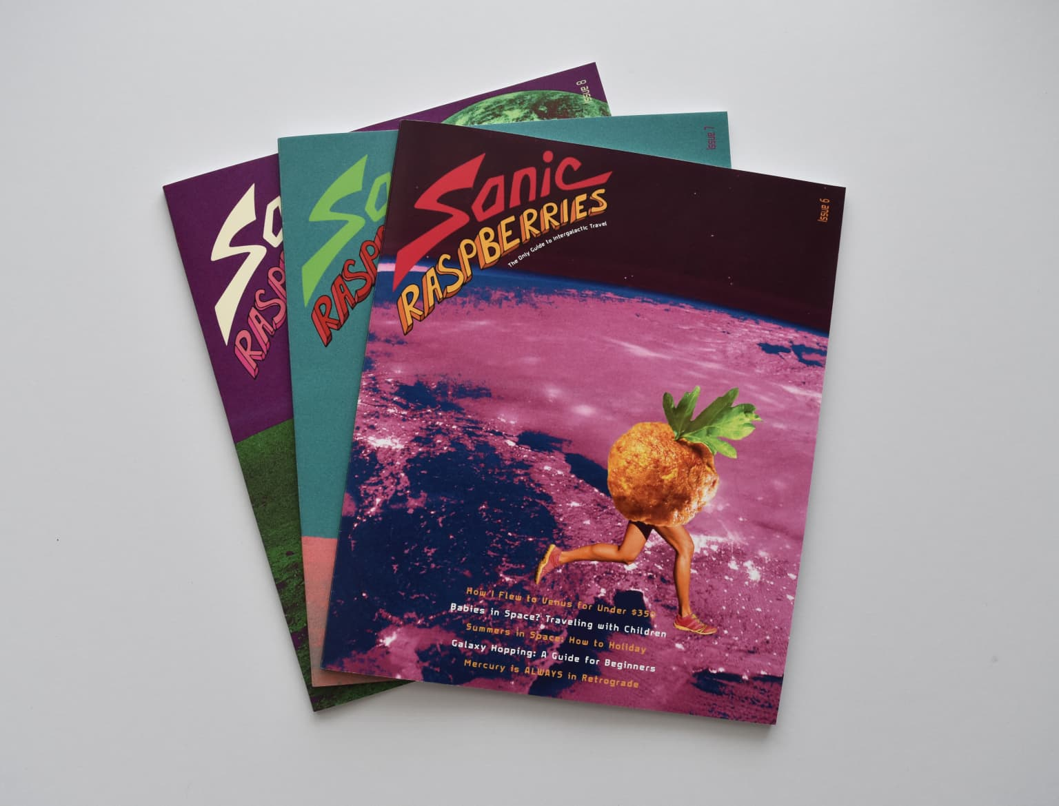 Sonic Raspberries - Intergalactic Travel Magazine