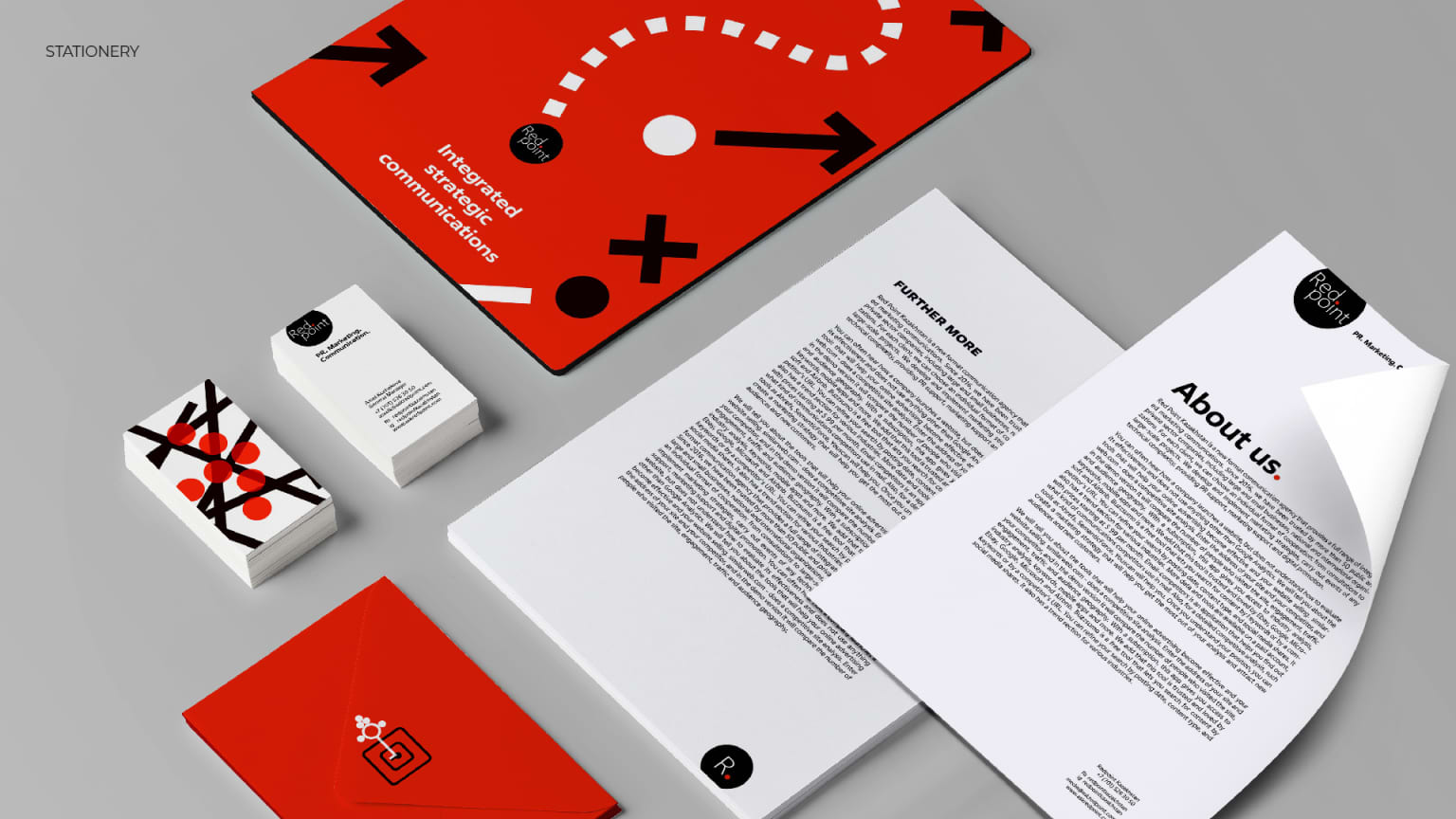 Redpoint communication agency restyling