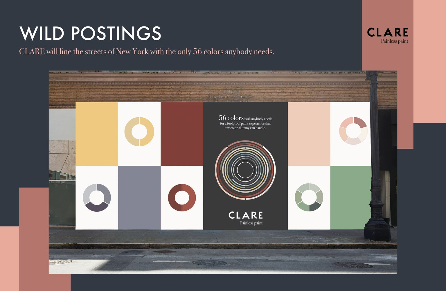 CLARE - Student Advertising Campaign