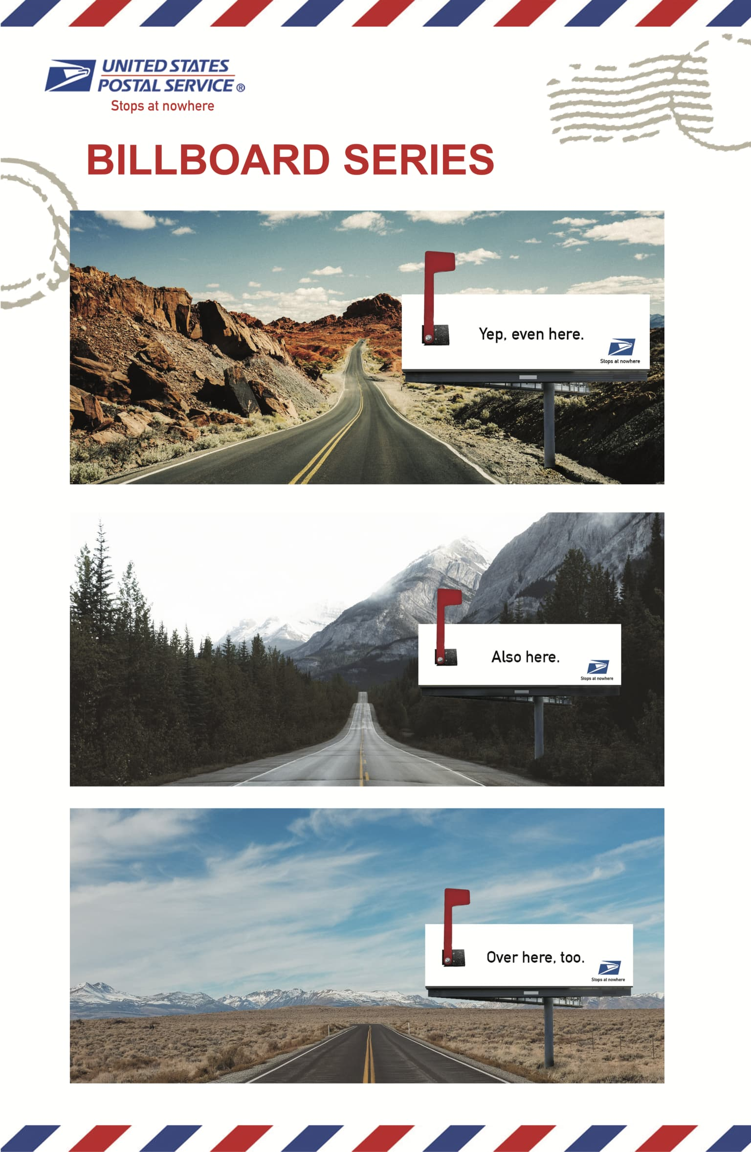 USPS - Student Advertising Campaign