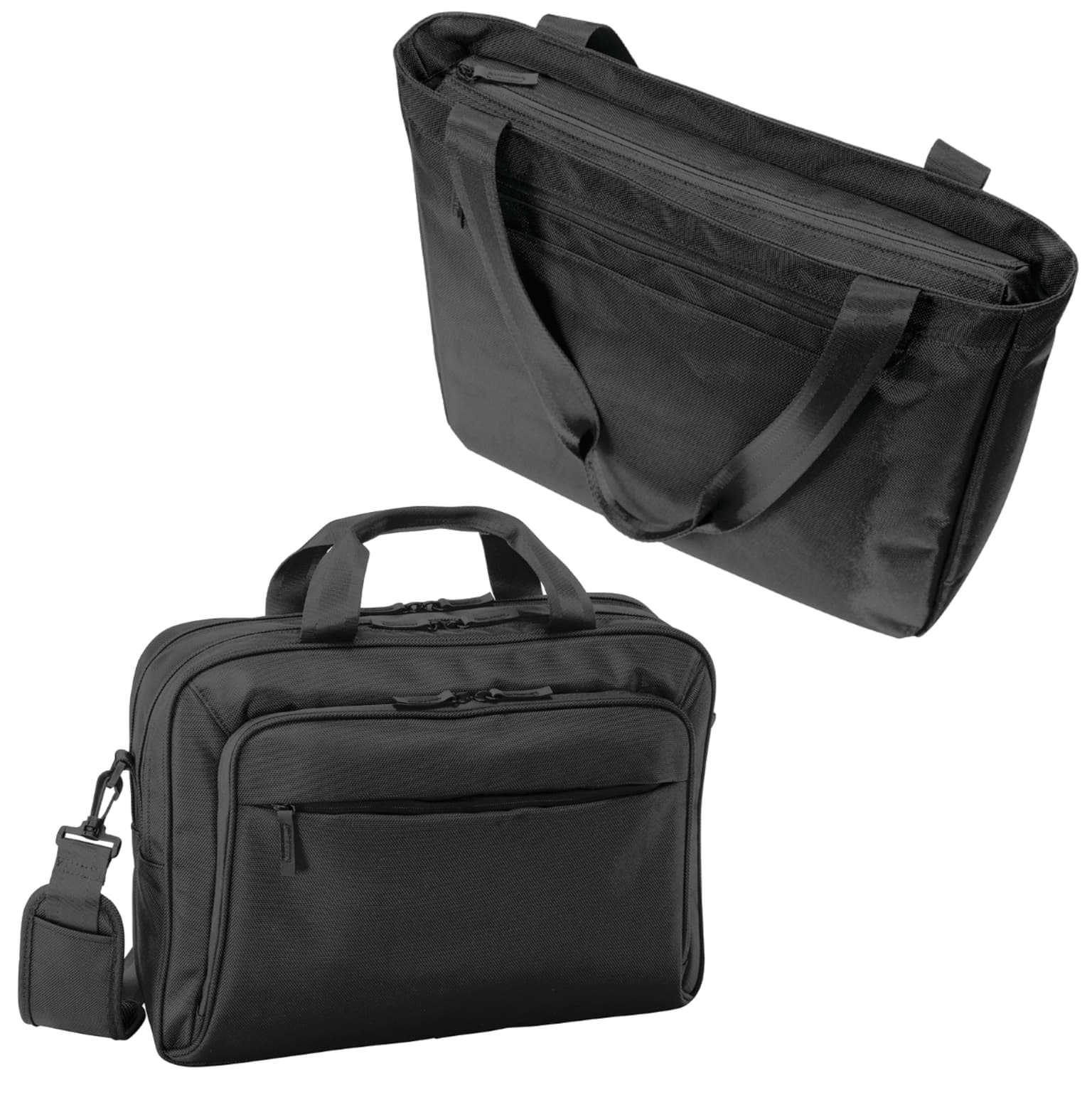 SanMar Business backpacks and Business cases
