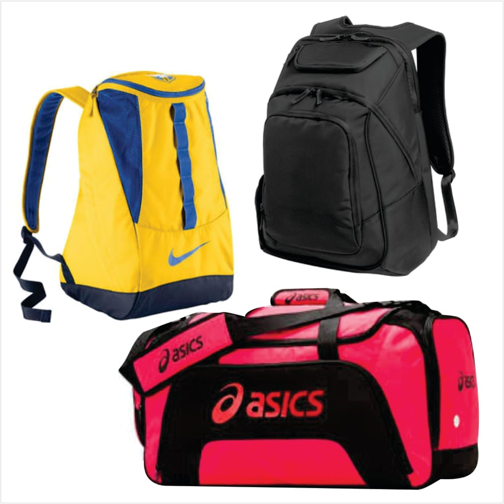 Assorted packs and bags