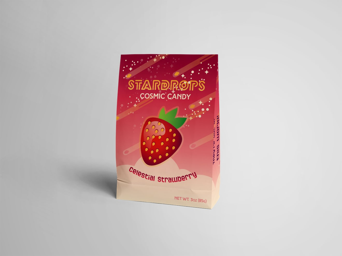 Stardrops Cosmic Candy Package & Page Designs