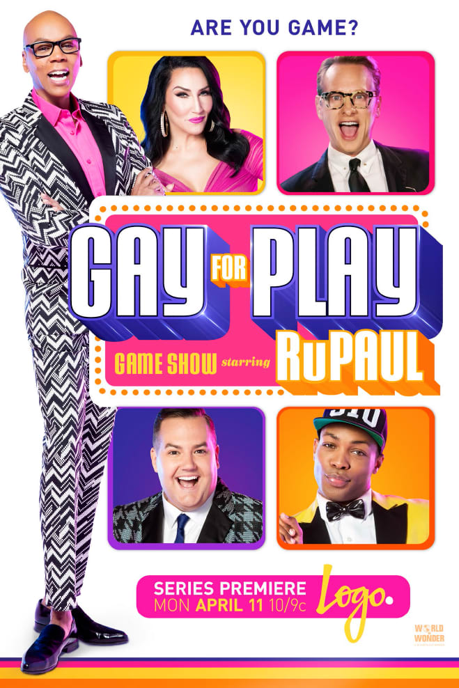 Gay For Play Starring RuPaul Show Launch Brand Creative