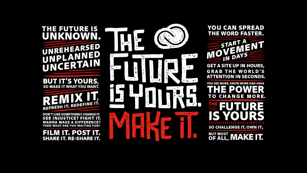 The Future Is Yours // Adobe