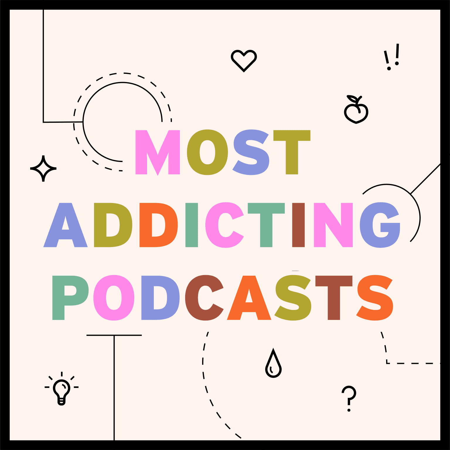 Man Repeller's Most Addicting Podcasts Infographic
