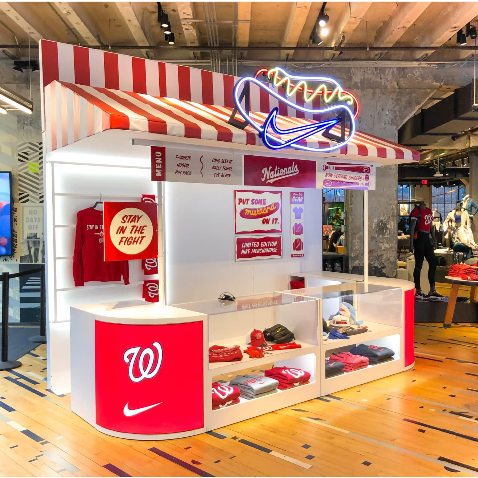 Nike Baseball 2019 World Series Concession Stand