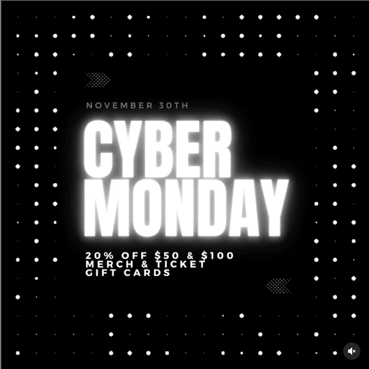 The State Room Presents   Cyber Monday 2020