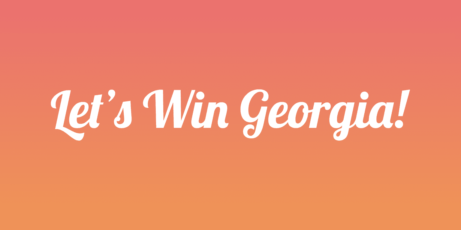 Georgia Votes 2021 Webpage and Assets