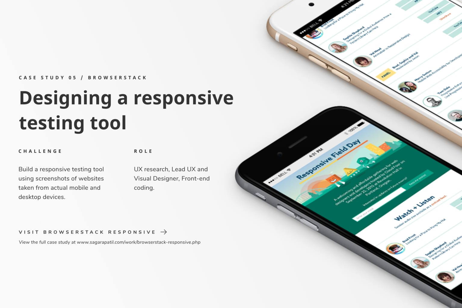 Building a responsive testing tool.