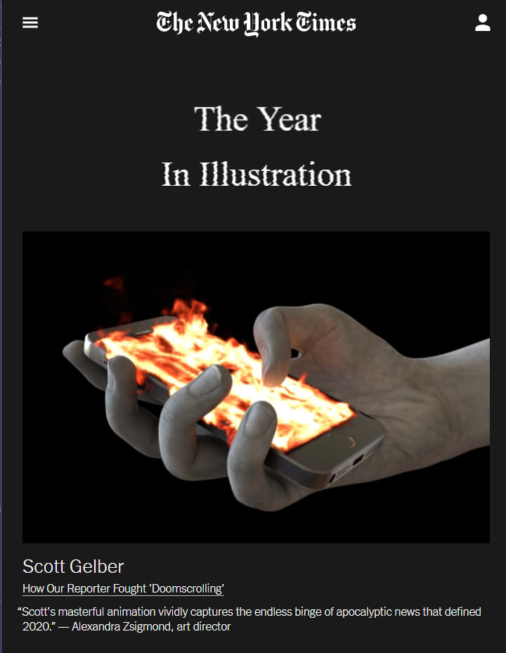 Best of Illustration 2020 NY Times