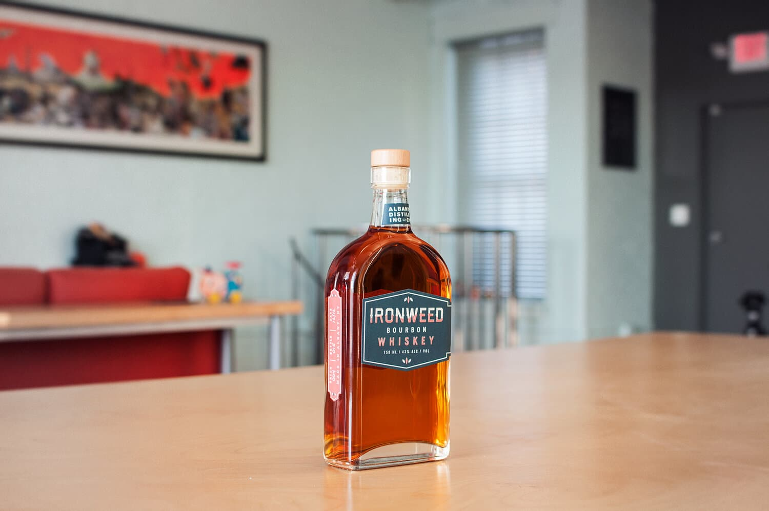 Albany Distilling Company - Ironweed Whiskey Packaging