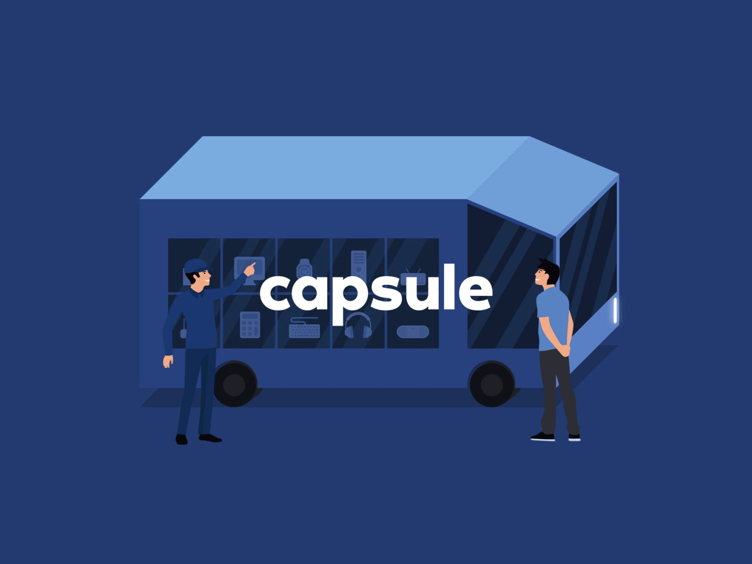 Capsule: The future of retail, delivered.