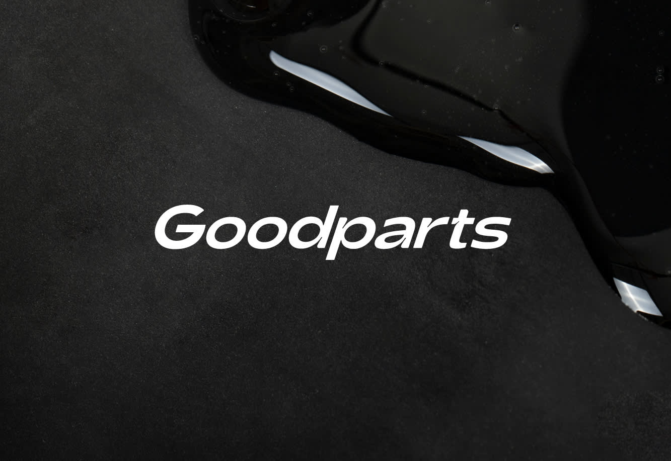 Goodparts, brand, packaging, and digital
