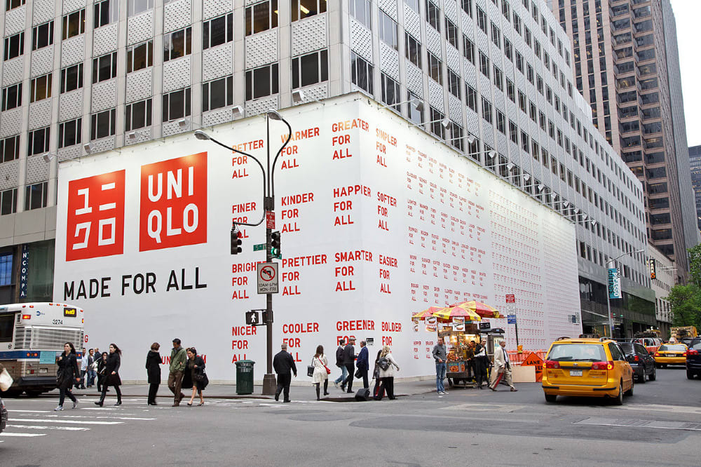 Uniqlo US Rebrand and New York Stores Launch
