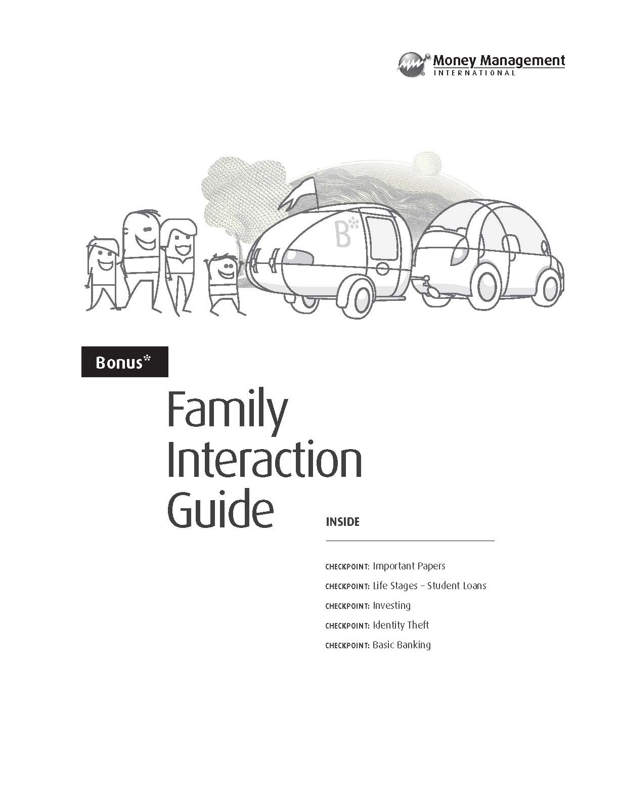 Family Interaction Guide — financial literacy guide