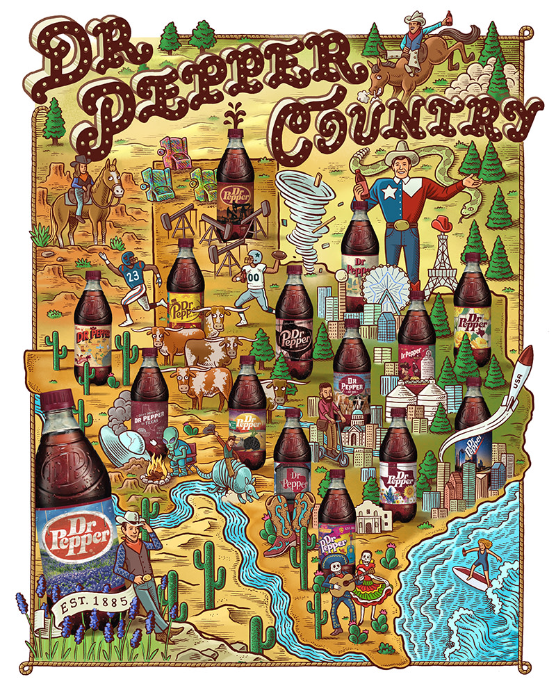 Dr Pepper Country
