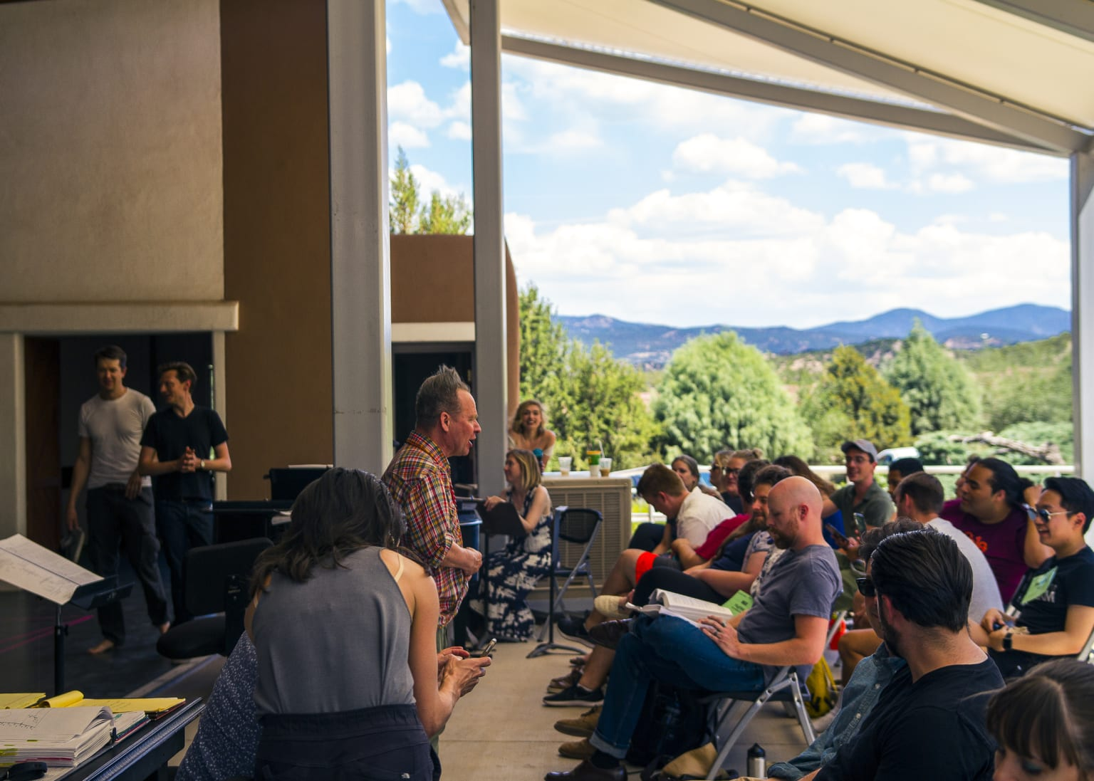 'Doctor Atomic' at the Santa Fe Opera for The New York Times
