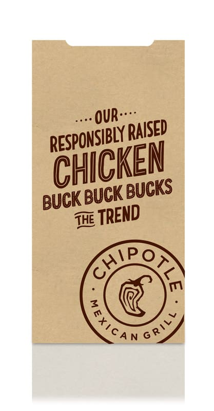 """Chipotle's """"For Real"""" Packaging"""
