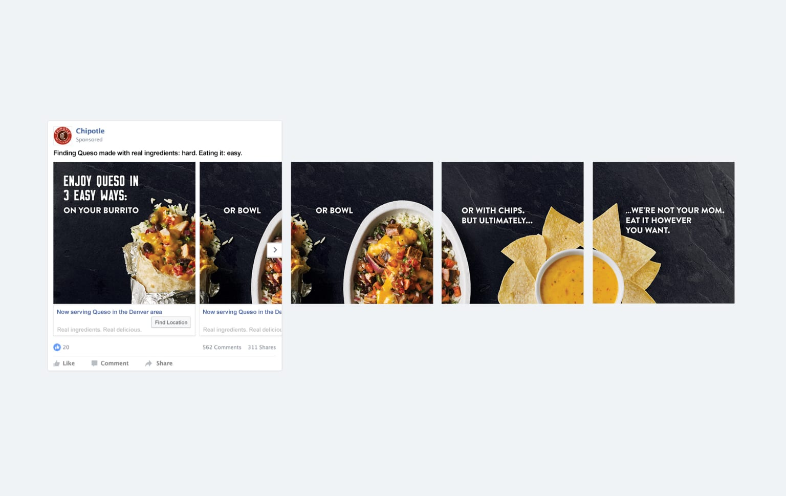 Chipotle's Quesocial Launch