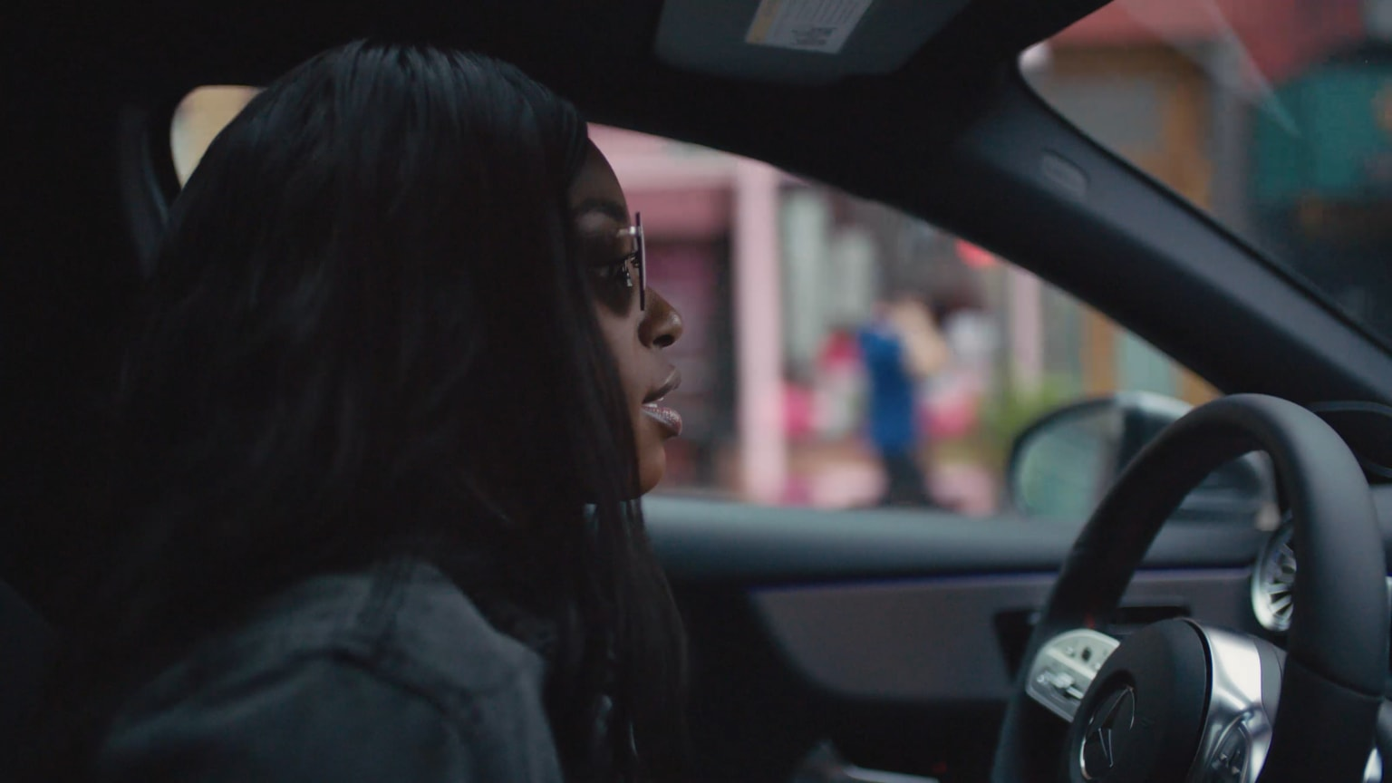 A-Class Mercedes-Benz USA with Sloane Stephens