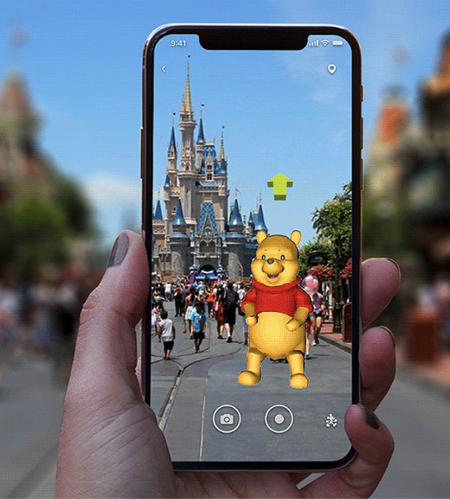 Disney AR Character Guide