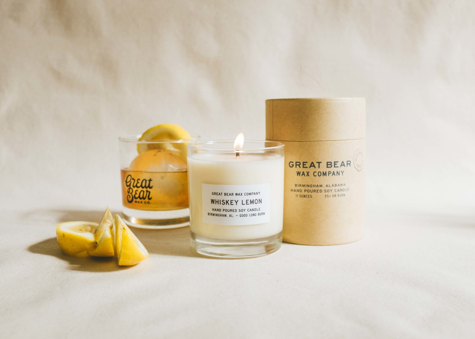 Great Bear Wax Co. Rebrand and Packaging