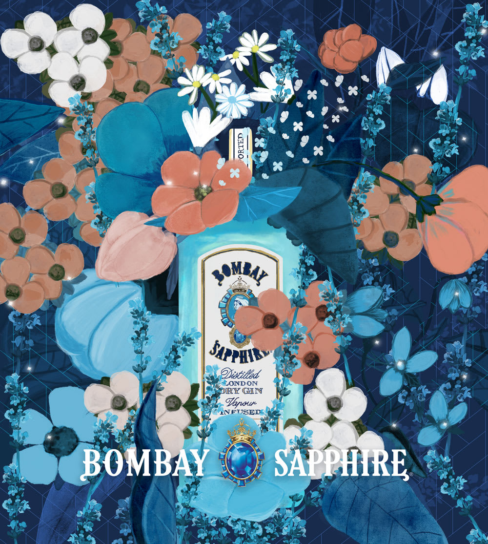 Bombay Sapphire- entry