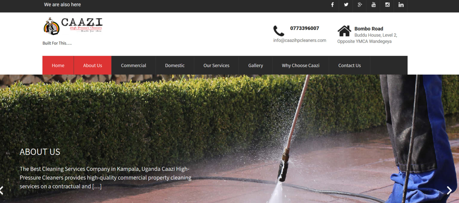 Cleaning Company in East Africa