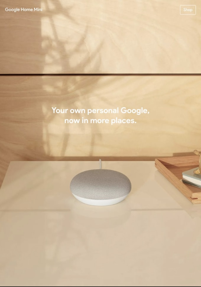 Google Store - Google Assistant - Homepage Copy