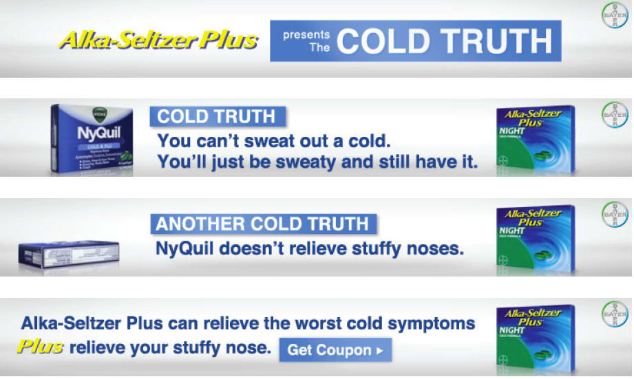 Alka-Seltzer Plus: Cold Hard Truth Campaign