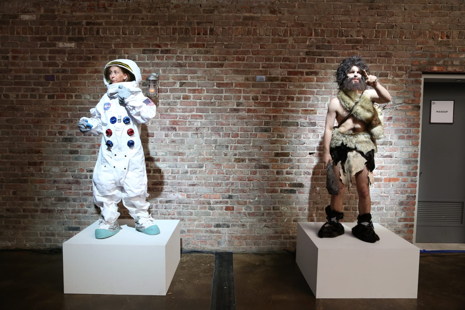 The Caveman and the Astronaut