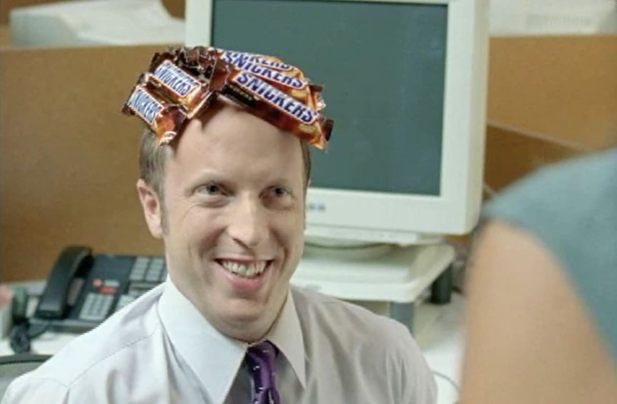 """Snickers """"Bald"""""""