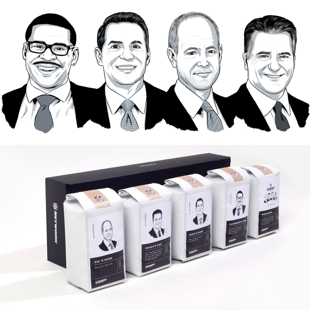Coffee Packaging Promotion for NFL Gameday Morning Show