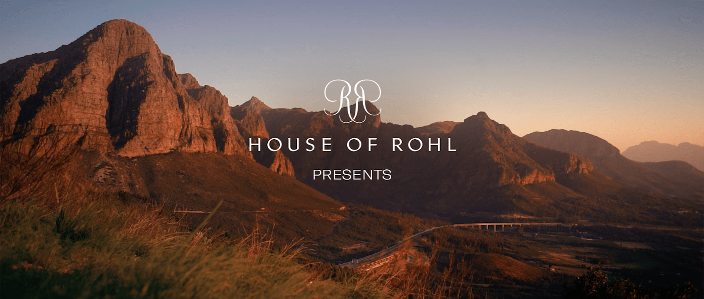 The House of Rohl Launch Campaign