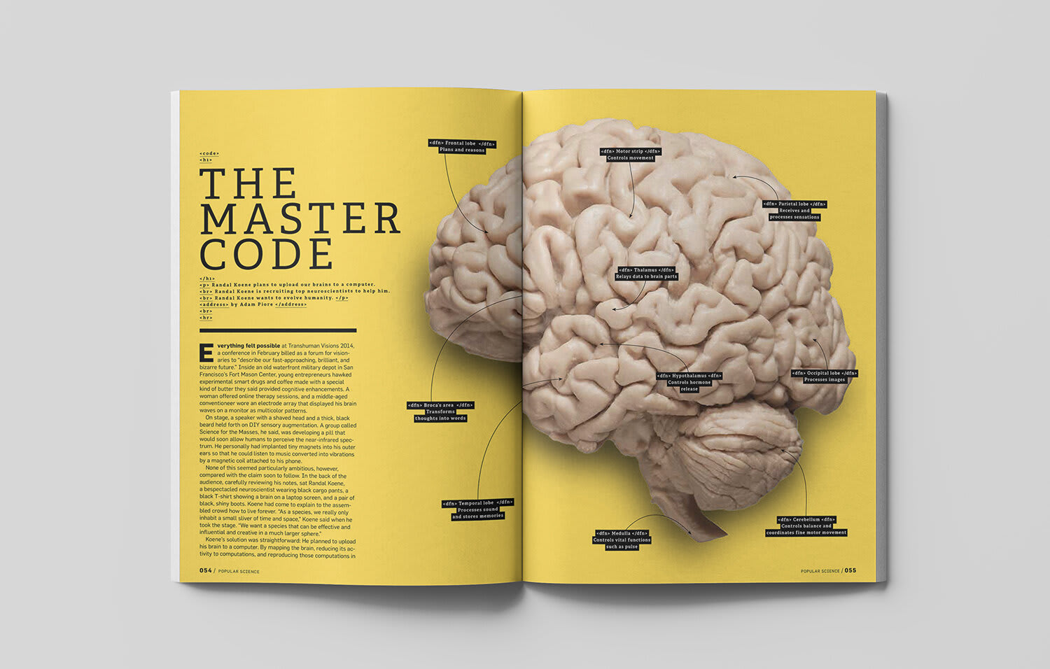 Popular Science - The Master Code