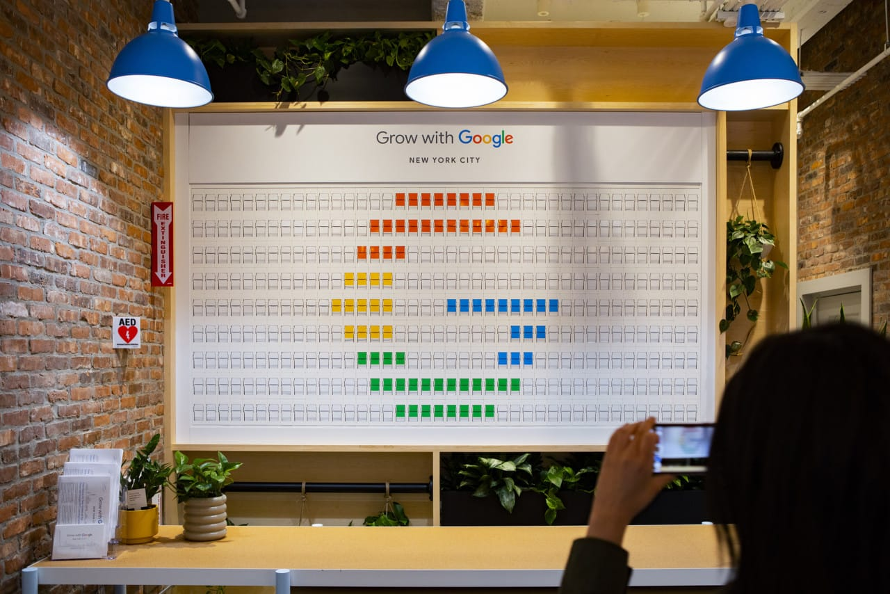 Grow with Google NYC Launch Event