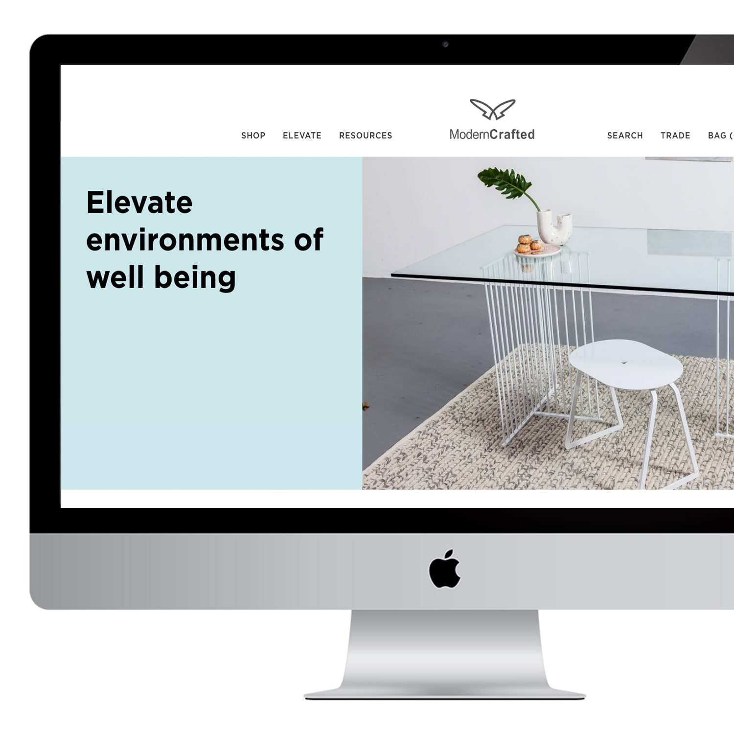Ecommerce Design for Modern Crafted