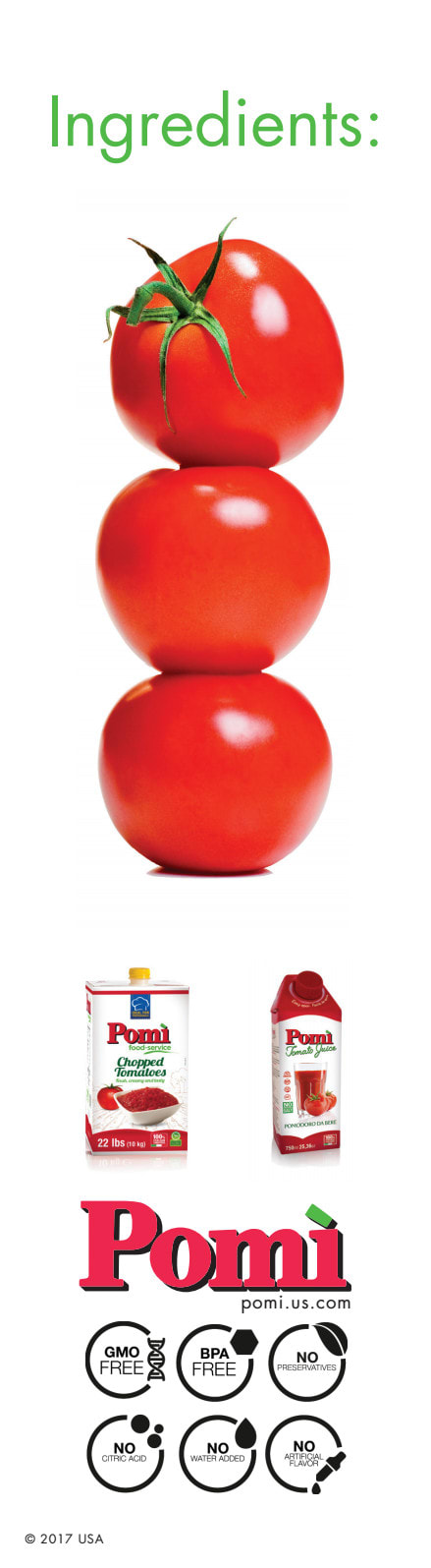 Pomi Tomatoes Banner