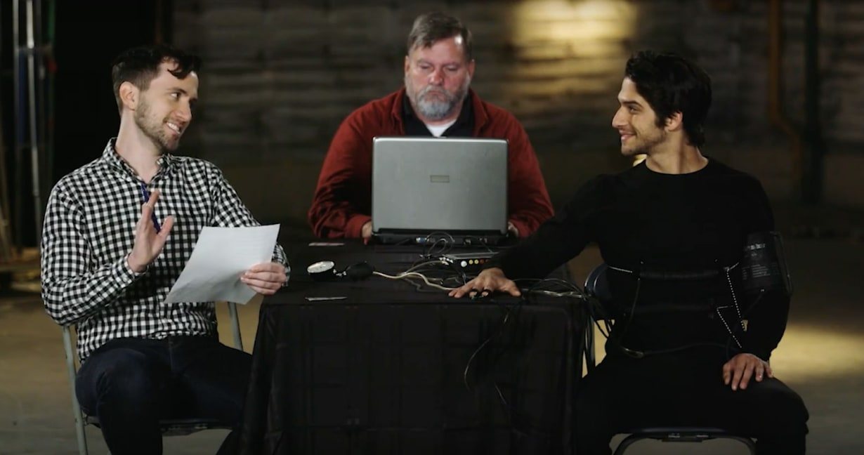 """Tyler Posey Lie Detector Test for Blumhouse's """"Truth or Dare"""""""