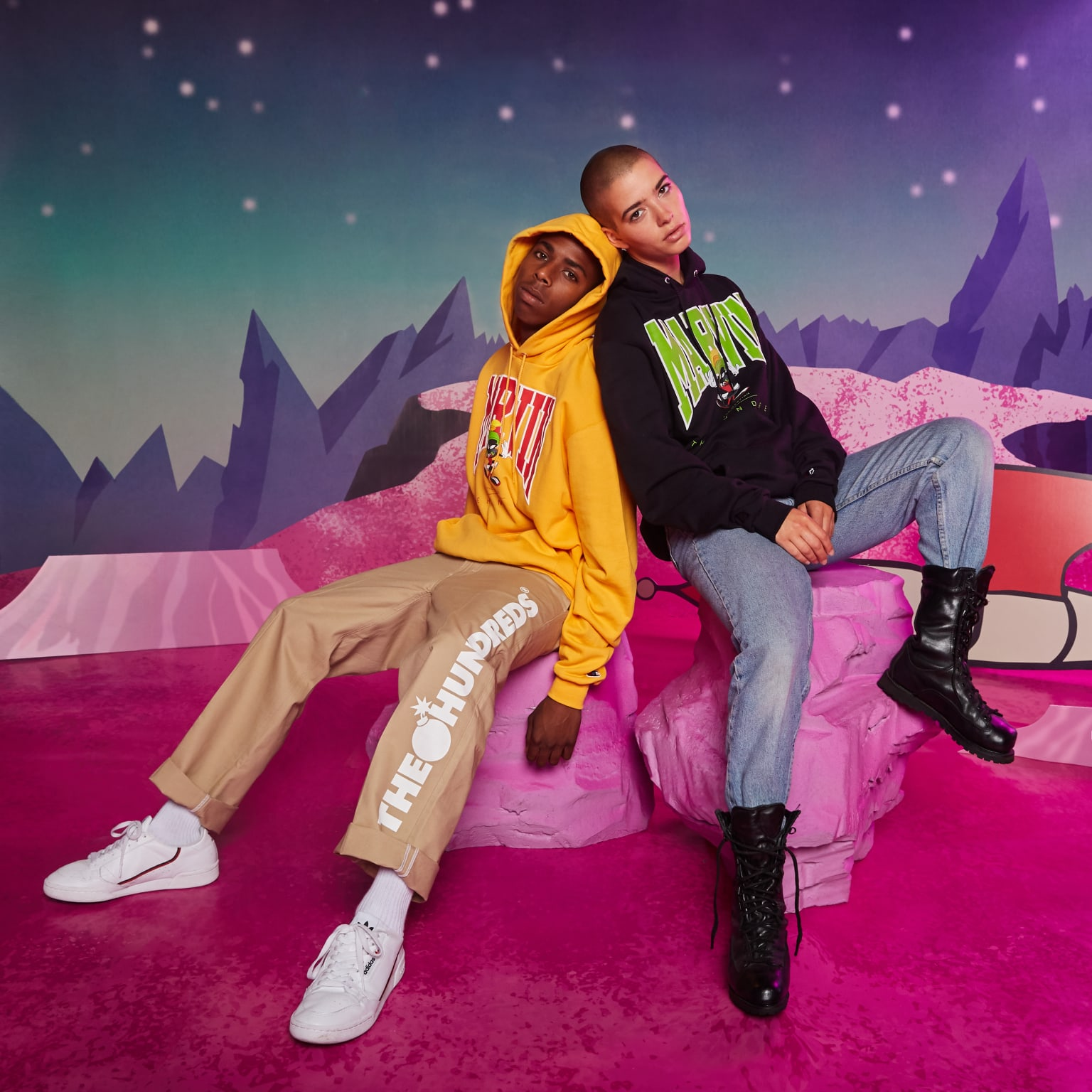 The Hundreds x Marvin the Martian - Clothing Collaboration Lookbook