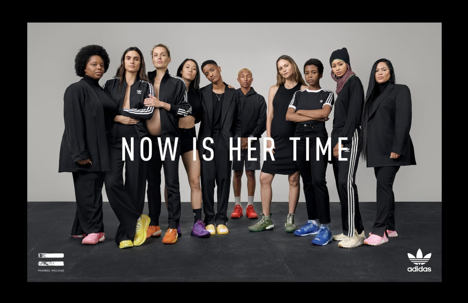 adidas Originals Pharrell Williams NOW IS HER TIME