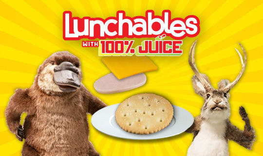 """Lunchables """"Mixed Up Fun"""" Augmented Reality Games"""