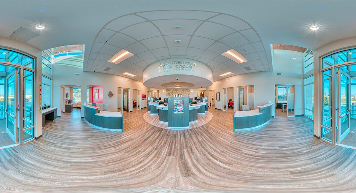 360° images for new MCCU location Google Business page